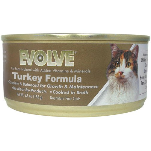 Evolve Cat Food Canned Trukey Formula (Case of 24) Best Price
