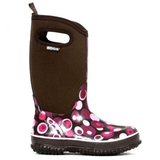Bogs Girls Classic High Bubble Boots / Size (11 Youth) Best Price