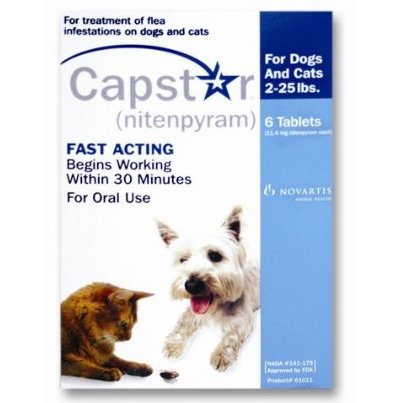 Capstar Flea Relief for Dogs - 2-25 lbs. Best Price
