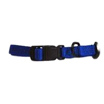 Hamilton 3/8 In Adj. Dog Collar / 7 12 In. Neck / Color Blue