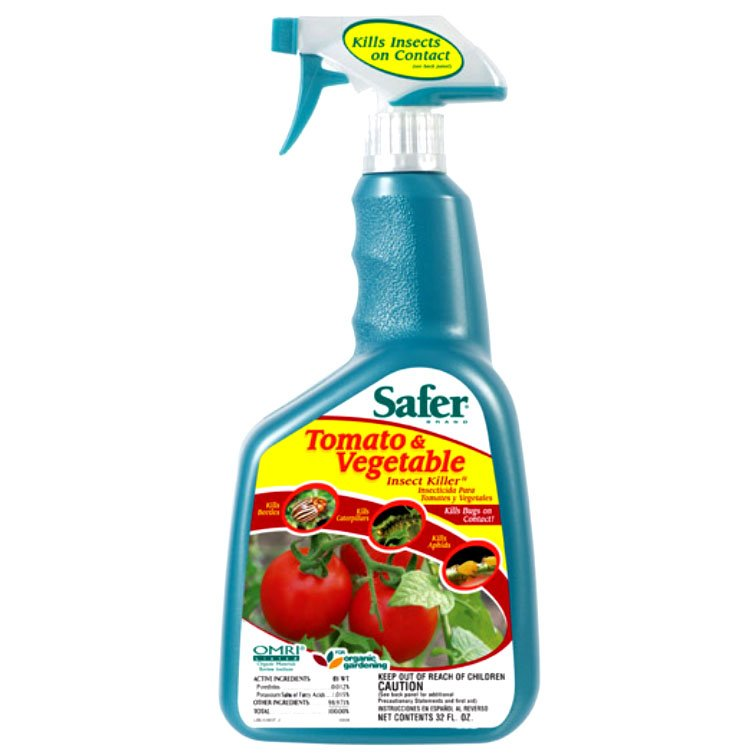 Safer Tomato and Vegetable Insect Killer - 32 oz. Best Price