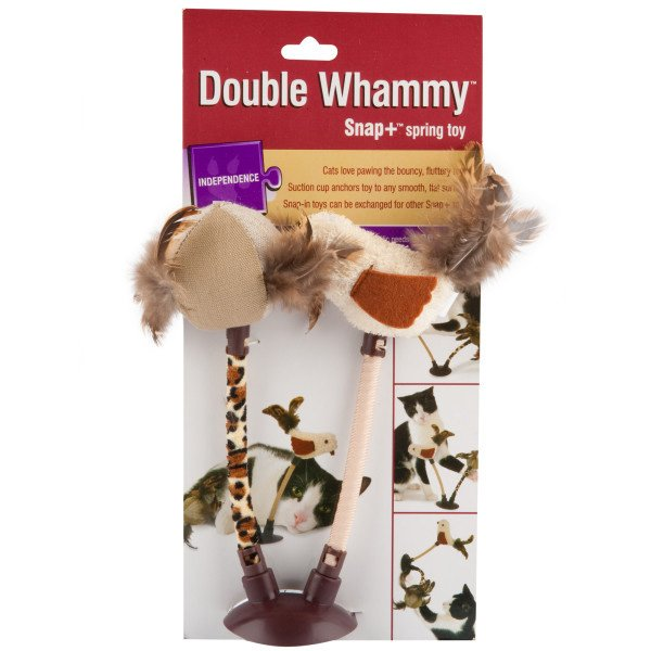 Double Whammy Cat Toy Best Price