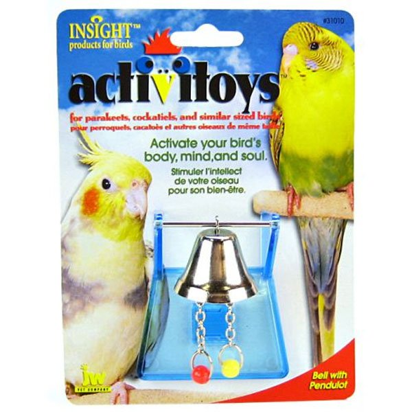 Activitoys Bell With Pendulot Bird Toy