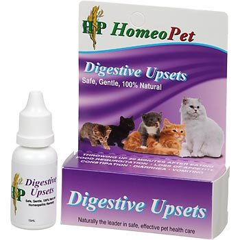 Homeopet Digestive Upset Feline Remedy - 15 ml. Best Price