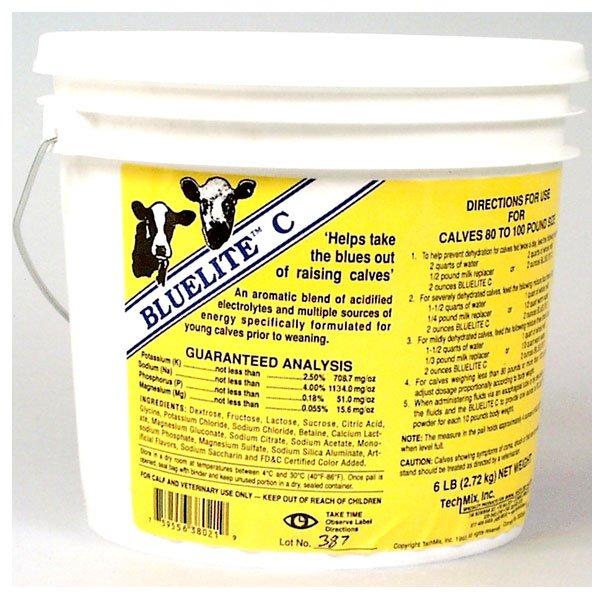 BlueLite C for Calves before Weaning - 6 lb. Best Price