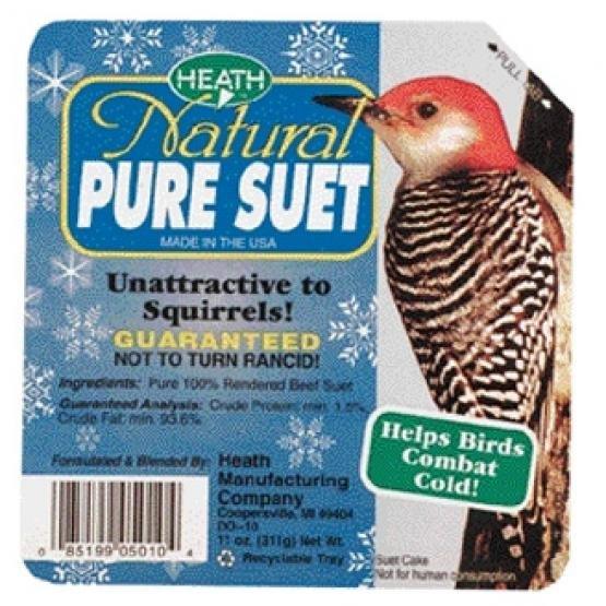Heath Natural Pure Suet 10 Oz