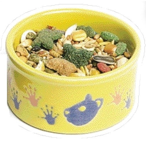 Hamster Pawprint Food Dish - 3 in. Best Price