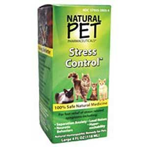 Natural Pet Stress Control - Cat Supplement - 4 oz. Best Price