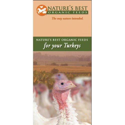 Organic Turkey Grower Crumbles - 50 lbs Best Price