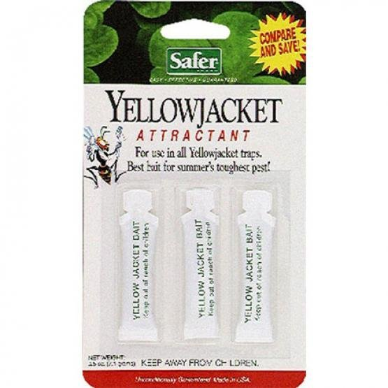 Safer Yellow Jacket Bait 3 pack (Case of 24) Best Price