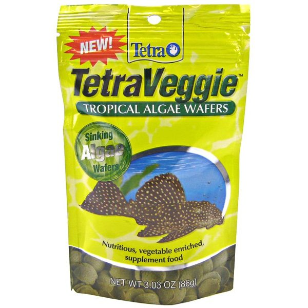 Tetraveggie Algae Wafers Pouch 3 Oz.