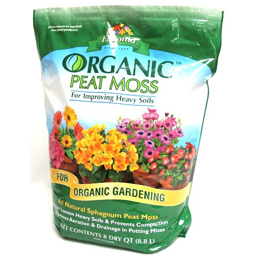 Organic Peat Moss - 8 qt Best Price