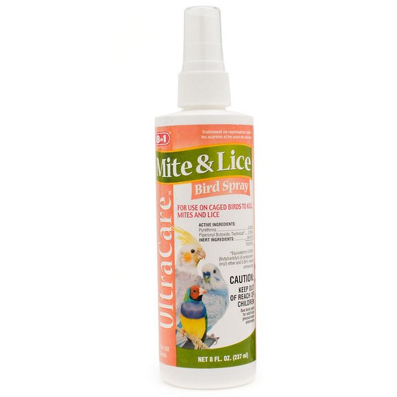 Bird Mite and Lice Spray 8 oz. Best Price