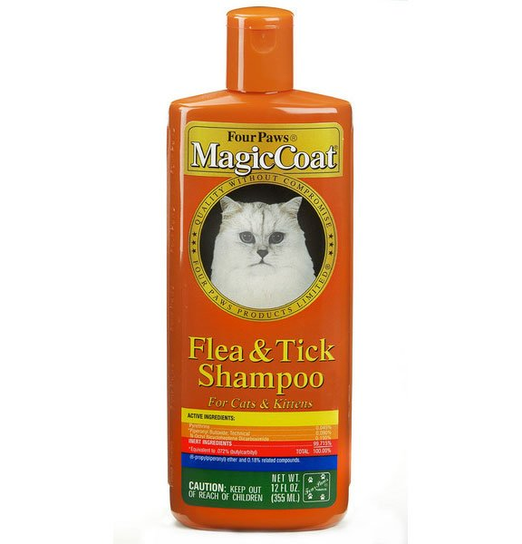 Magic Coat Cat Flea Tick Shampoo 12oz