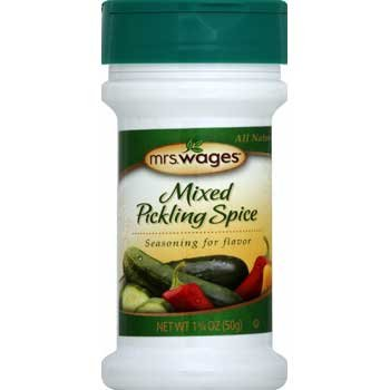 Mrs. Wages Mixed Pickling Spice - 1.75 oz. Best Price