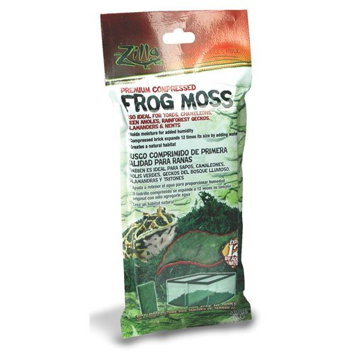 Premium Compressed Frog Moss 3.5 oz Best Price