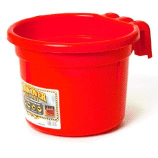Hook Over Pail for Livestock Watering / Color (Red) Best Price