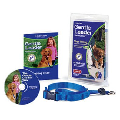 Gentle Leader Dog Head Collar / Size (Large / Blue) Best Price