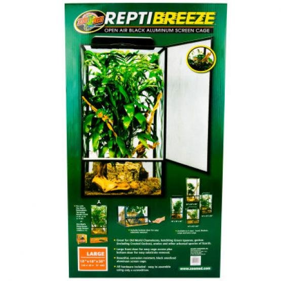 Reptibreeze Open Air Screen Cage / Size (Large) Best Price