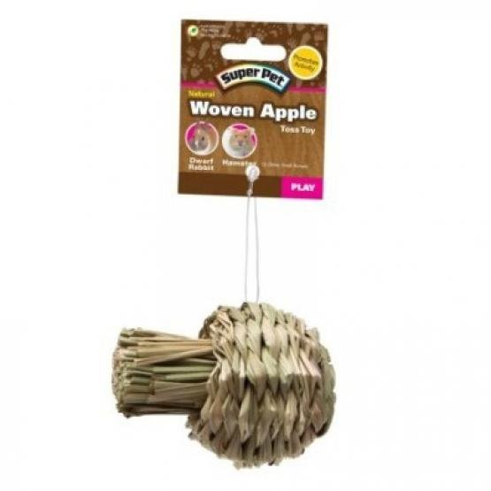 Super Pet Natural Sisal Apple Toy Small