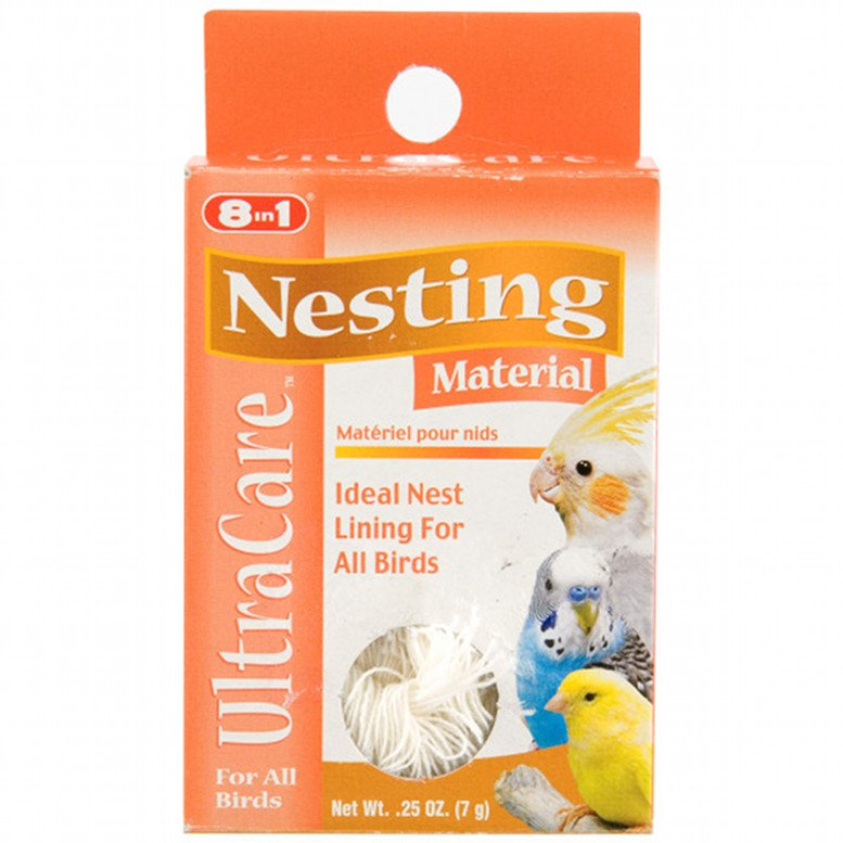 Nesting Material For Pet Birds 0.25 Oz