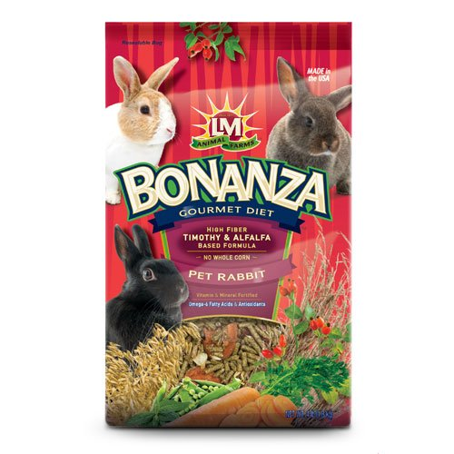 Bonanza Gourmet Diet For Rabbits / Size 4 Lbs.