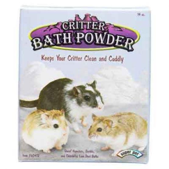 Critter Bath Powder For Small Animals
