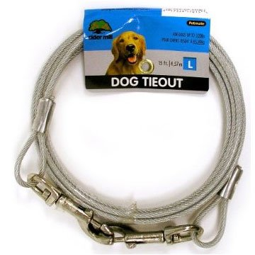 Cider Mill Dog Tie-out / Size (15 ft. / 1700 lb)