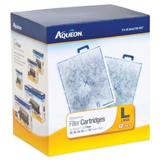 Aqueon Filter Cartridge Large / 12 Pk.