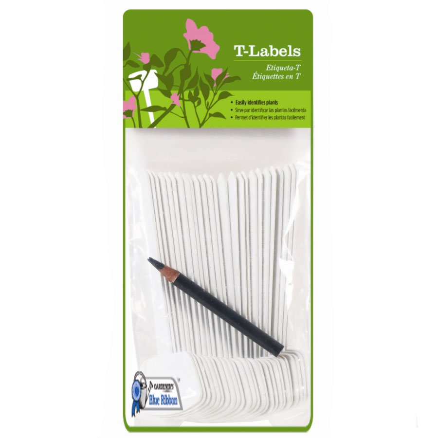 Plant T-labels - 25 pk / White (Case of 12) Best Price