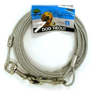 Cider Mill Dog Tie-out / Size (30 ft / 1700 lb) Best Price