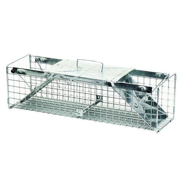 2 Door Squirrel/Rabbit Cage Trap - 24X7X7 in.