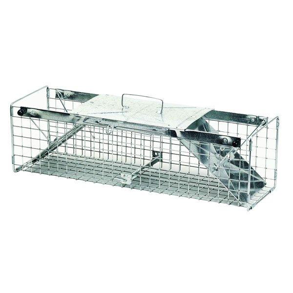 2 Door Squirrel/Rabbit Cage Trap - 24X7X7 in. Best Price