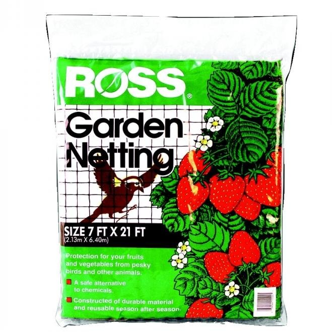 Ross Protective Garden Netting - Square Pattern / Size (7' x 21') Best Price