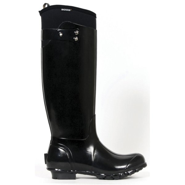 Bogs Black Equine Boots / Size (6 Womens) Best Price