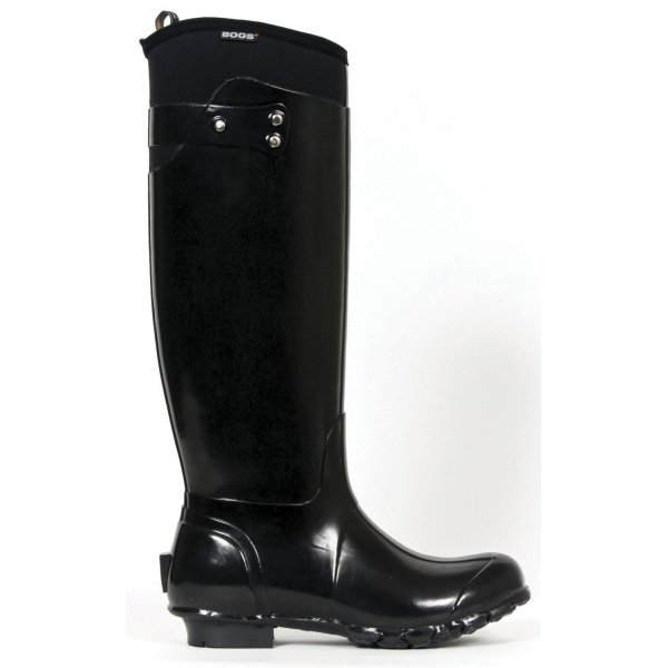 Bogs Black Equine Boots / Size (7 Womens) Best Price