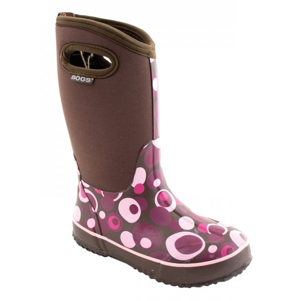 Bogs Girls Classic High Bubble Boots / Size (10 Youth) Best Price