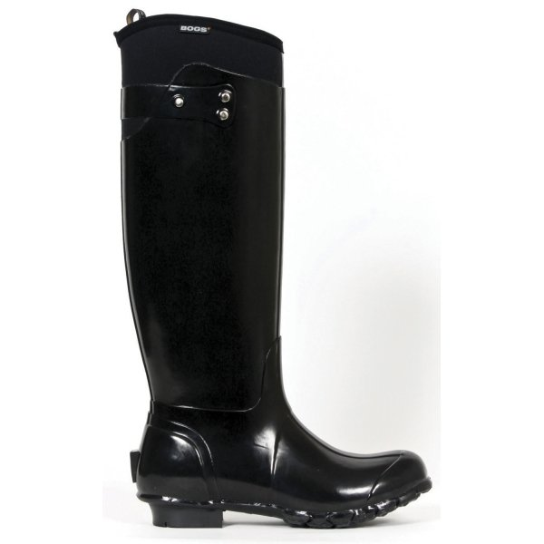 Bogs Black Equine Boots / Size (11 Womens) Best Price
