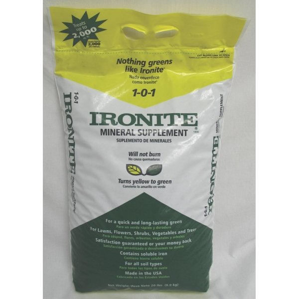 Ironite 1-0-1 Mineral Supplement  / Size (20 lb) Best Price