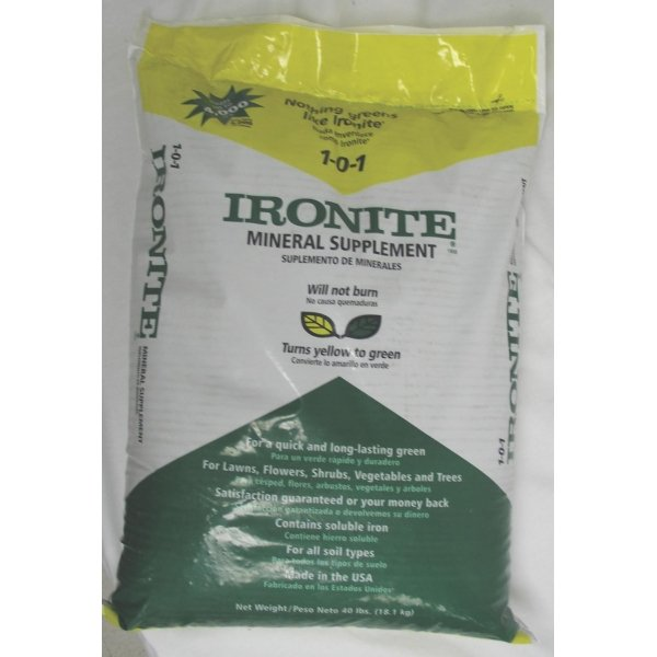 Ironite 1-0-1 Mineral Supplement  / Size (40 lb) Best Price