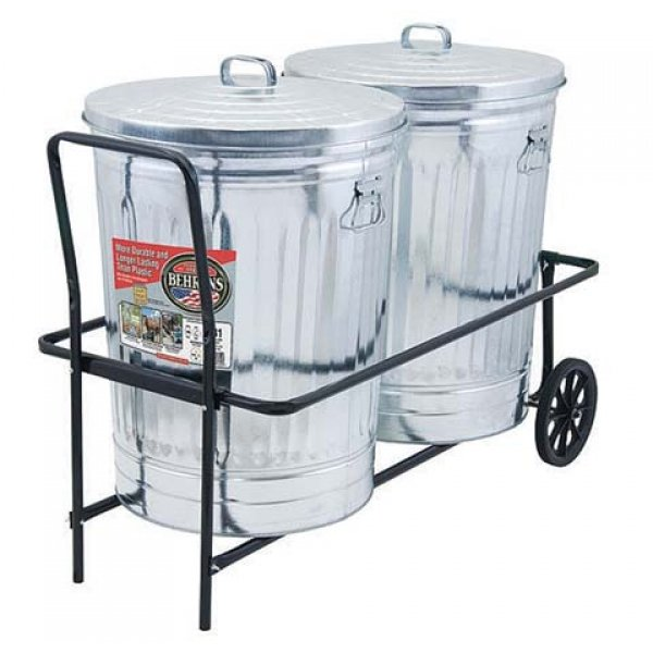 Wheeled Trashcan Cart Best Price