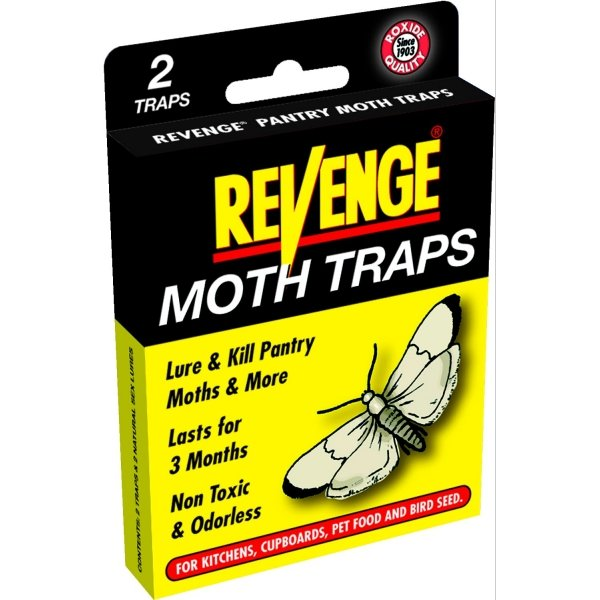 Pantry Pest Traps by Revenge 2 pk  (Case of 12) Best Price