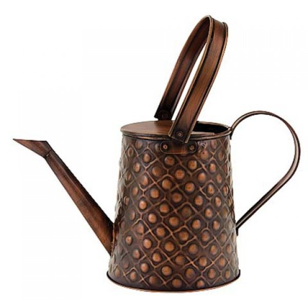 Copper Embossed Watering Can - 0.5 gal. Best Price