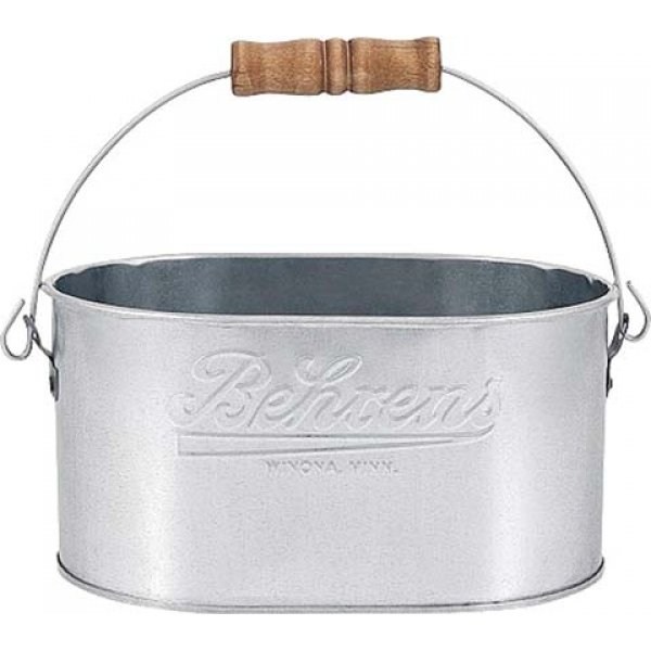 Behrens Embossed Vintage Steel Caddy