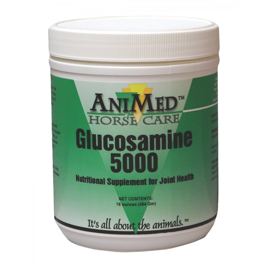 Animed Glucosamine 5000 Powder 16oz - Horse Best Price