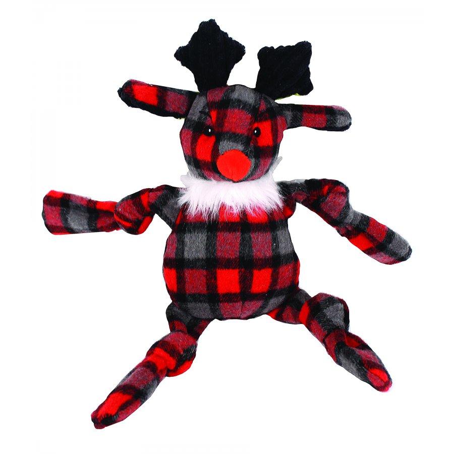 Holiday Knotties Reindeer Dog Toy - Medium