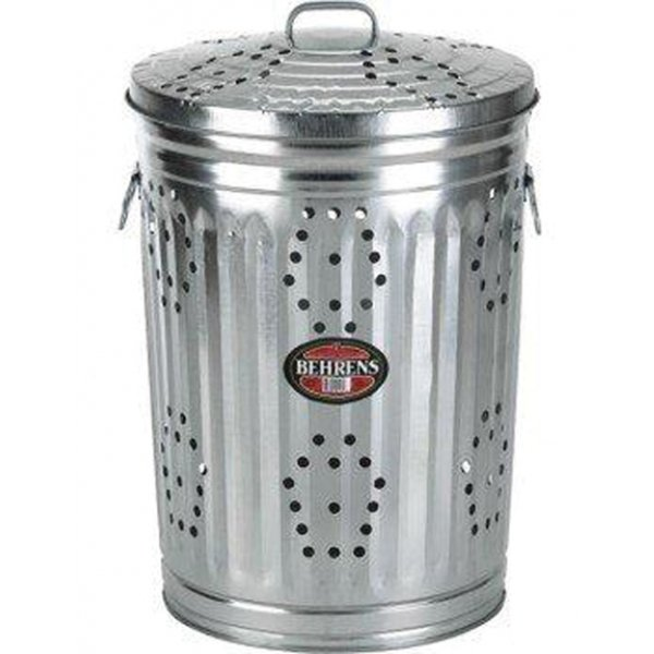 Galv. Steel Composter With Lid (Case of 6) Best Price