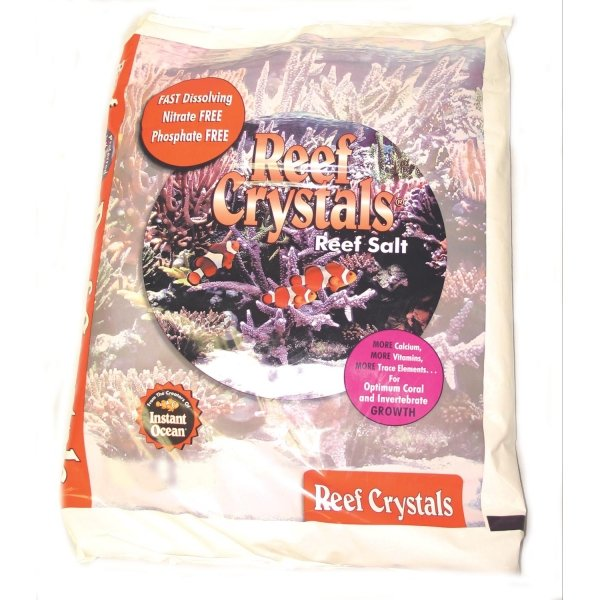 Reef Crystals Sea Salt / Size 25 Gal