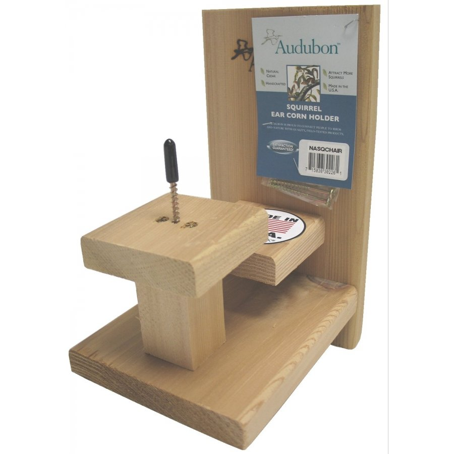 Audubon Squirrel Table and Chair Feeder Best Price