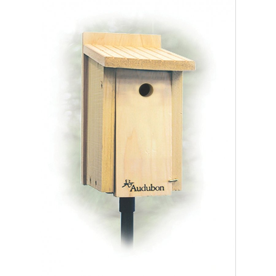 Cedar Wren / Chickadee House 14x10x19.5 Inches